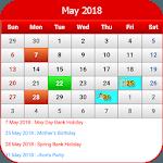 UK Calendar 2018 icon