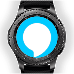 Alexa Gear (Alexa for Gear / Galaxy Watch) APK icon