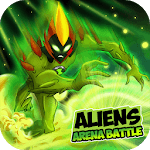 Aliens Arena: Mega Alien War Transform for pc icon