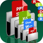 All Documents Reader: PDF PPT Word 2019 icon