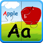 Alphabet puzzles & flash cards for pc icon