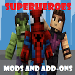 Superheroes Mods and Add-on pack for MCPE for pc icon
