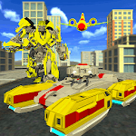 US Army Transformer Robot Battleground Game icon