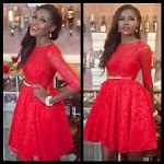 9ja Lace Short Gown Styles. icon