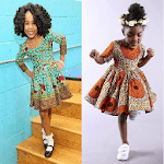 Kids Ank Short Dress Styles. icon