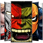 Superheroes Wallpaper icon
