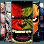 Superheroes Wallpaper APK icon