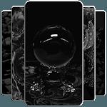 BLACK Wallpaper APK icon