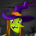 Angry Witch vs Pumpkin: Scary Halloween Game 2018 icon