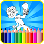 Coloring Pages For Ben Ten Alines icon