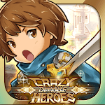 Crazy Defense Heroes: Tower Defense Strategy TD for pc icon