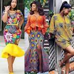 ANKARA LADIES DRESS STYLES 2019 icon