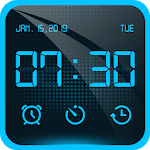 Alarm Clock - Bedside Clock, Stopwatch & Timer icon