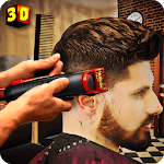 Barber Shop Hair Salon Cut Hair Cutting Games 3D icon