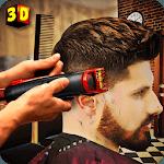Barber Shop Hair Salon Cut Hair Cutting Games 3D APK icon