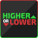 Higher or Lower: The Challenge for pc icon