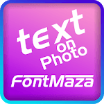 Text on Photo - FontMaza APK icon