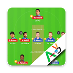 Fantasy Team for #Dream11 with VideoTeam icon