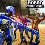 Police Robot Strike – Zombie shooting robot games icon