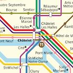 Metro Map: Paris (Offline) icon