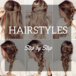 Hair Style app Step-by-Step icon