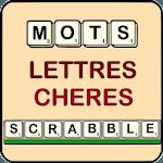 Mots scrabble lettres chères icon