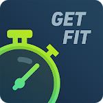 GetFit: Workout exercises & home fitness planner icon