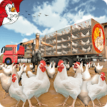 Poultry Farming  Transport Truck Driver 19 icon