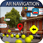AR Navigation & Nearby GPS, AR Walking Navigation icon