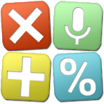 Multi-Screen Voice Calculator icon