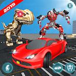 Dinosaur Robot Transform: Car Robot Transport Sim icon