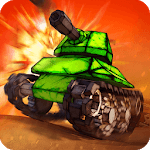 Crash of Tanks: Pocket Mayhem icon