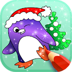 Animated Christmas Coloring Book icon