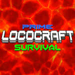Prime Loco Craft: Survival in 3 Maps Big City icon