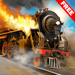 Train Driving Simulator Game: Burning Oil Engine icon