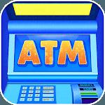 ATM Simulator Cash and Money icon