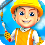 Construction City For Kids APK icon