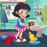 Messy House Cleaning Cleanup icon