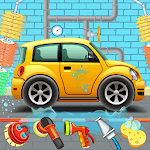 Kids Car Wash Service Auto Workshop Garage icon