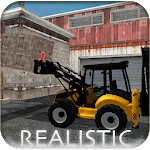 Backhoe Loader Factory Game icon