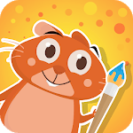 Hamster Bob - drawing for kids for pc icon