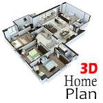 3D House Plan Ideas icon