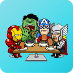 Superhero Stickers for WhatsApp - WAStickerApps icon