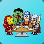 Superhero Stickers for WhatsApp - WAStickerApps for pc icon