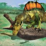Crocodile vs Dinosaur Wild City Attack icon