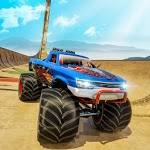 Monster Truck Mega Ramp Stunts Tracks icon