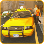 Car Taxi Driver Simulator 2019 icon
