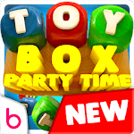 Toy Box Party Blast Time - Match Crush Toon Cubes icon