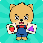 Baby flash cards for toddlers APK icon