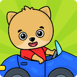 Car games for toddlers icon